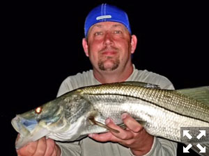 Several productive nights this week fishing for snook.