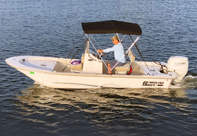 17' Carolina Skiff Center Console / 70 h.p. Suzuki