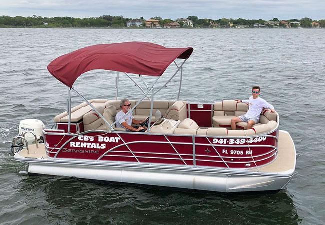 20' Berkshire Pontoon Boat / 70 h.p Suzuki