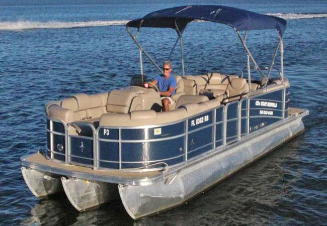 24' Berkshire Pontoon Boat / 90 h.p Suzuki