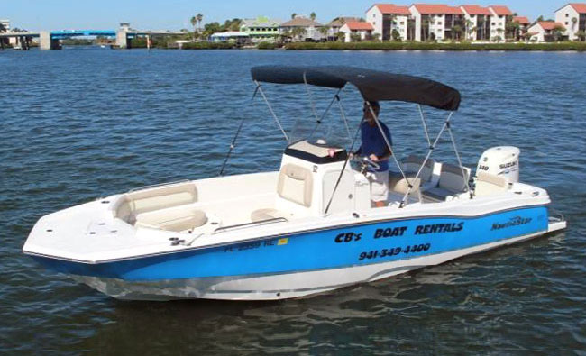 23' NauticStar Deck Boat