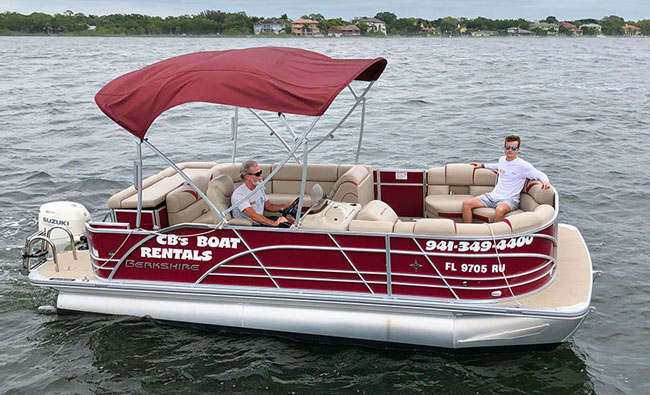 20' Berkshire Pontoon Boat