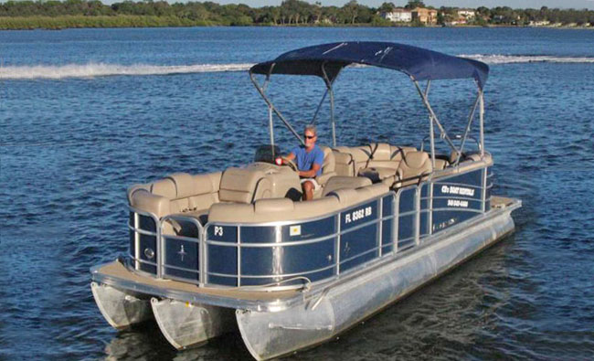 24' Berkshire Pontoon Boat