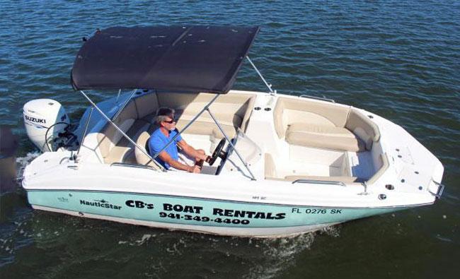 19′ NauticStar Deck Boat