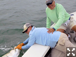 There are few fishing experiences that compare to the experience of battling a tarpon in open water.