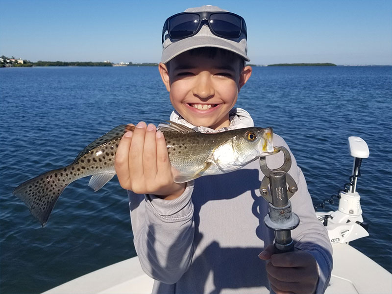 No doubt speckled Sea Trout were running this past week.