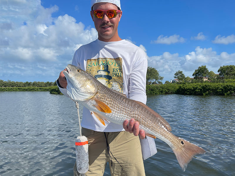 That's one fine looking Redfish.