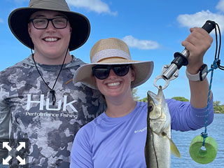 Trey and Abby caught these beautiful fish in Sarasota bay while fishing this week with Capt. Brandon Naeve.